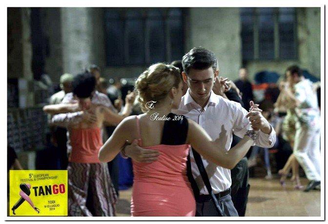 команда танцевального клуба La Boca на European Tango Championship 2014