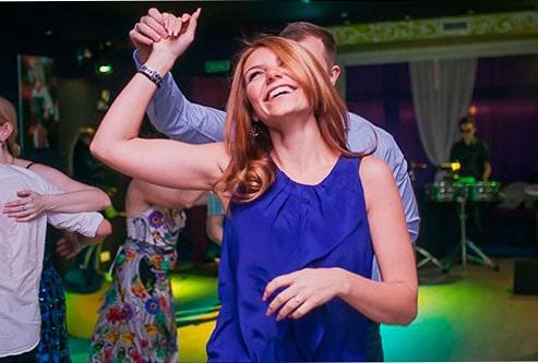 Видео танца «сальса»