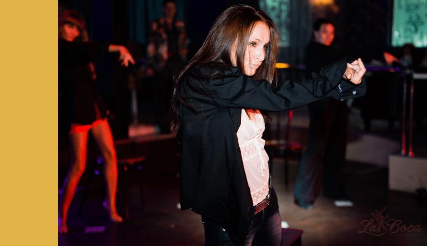 Преподаватель современных танцев