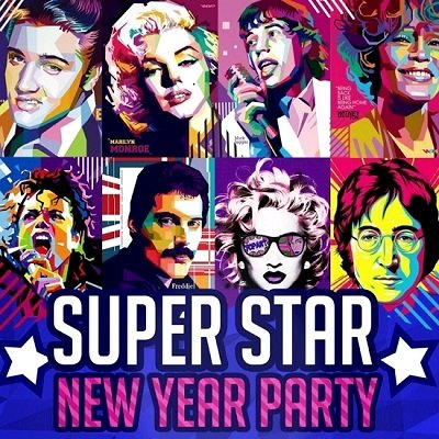 Фотоотчёт Super Stars New Year Party