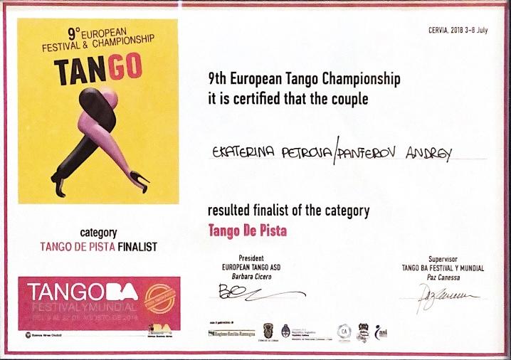 tango europe championship