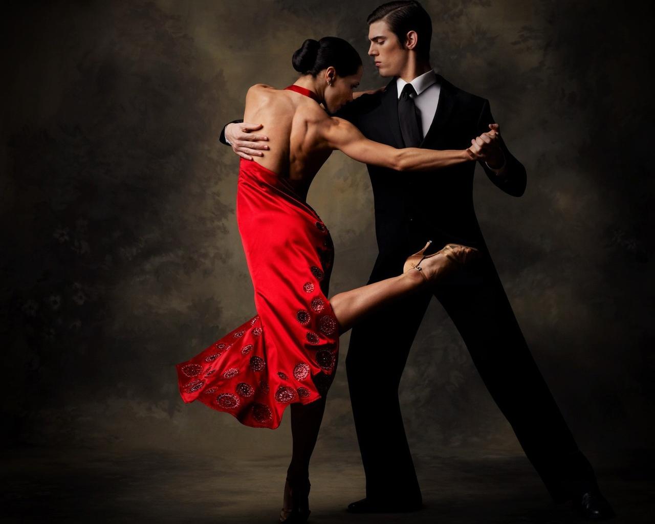 Видео танца «бачата»